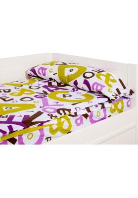 """""""Prêt à dormir"""" extensible et zippé - PEACE lilas"""