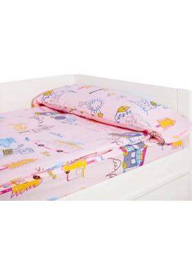 """""""Prêt à dormir"""" extensible et zippé - CARAVANAS HOLIDAY rose"""