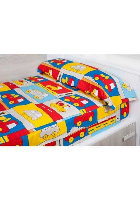 """""""Prêt à dormir"""" extensible et zippé - TRUCK beige"""