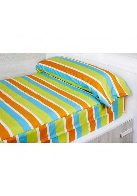 """""""Prêt à dormir"""" extensible et zippé - OUTLET FACE orange"""