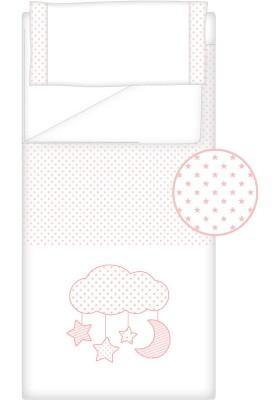 Prêt à Dormir Zippé Non-Extensible Coton et Piqué – Dpkes CANDY rose
