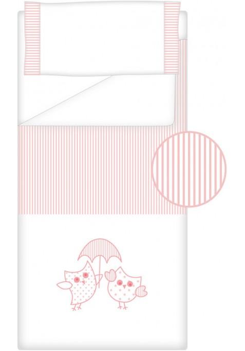 Prêt à Dormir Zippé Non-Extensible Coton et Piqué – Dpkes LOVERS rose