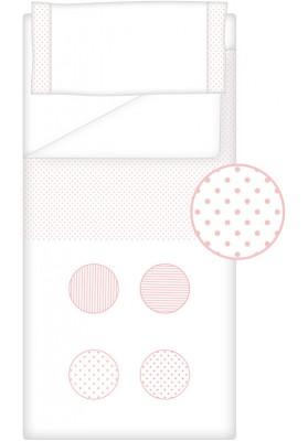 Prêt à Dormir Zippé Non-Extensible Coton et Piqué – Dpkes FUNNY rose