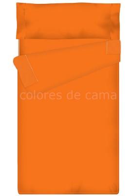 """""""Prêt à dormir"""" extensible et zippé - UNI orange"""