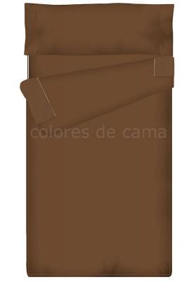 """""""Prêt à dormir"""" extensible et zippé - UNI marron chocolat"""