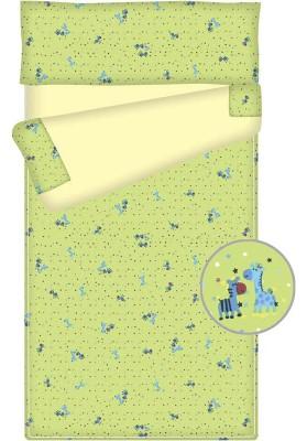 Prêt à dormir bébé zippé et extensible - FRIENDS vert