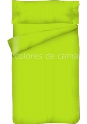 Housse de Couette Vert Pistachio Unie + Taie d'Oreiller