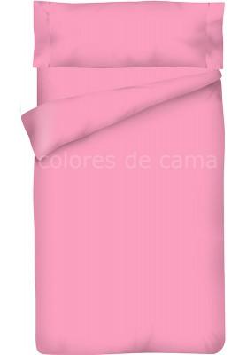 Parure de Couette Mauve Unie - Housse de Couette + Taie d'Oreiller