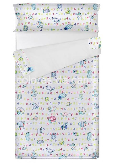 """""""Prêt à dormir"""" extensible et zippé - DIVER blanc"""