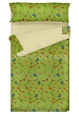 """""""Prêt à dormir"""" extensible et zippé - PETIT AMIS vert"""