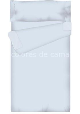 """""""Prêt à dormir"""" extensible et zippé - UNI bleu ciel"""