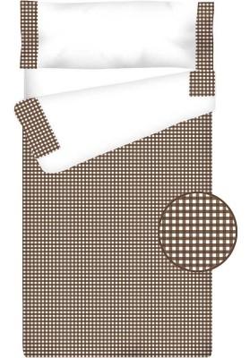 Prêt à Dormir Zippé et Extensible Coton – VICHY CARRÉ chocolat