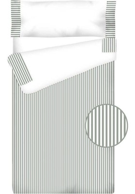 Prêt à Dormir Zippé et Extensible Coton – VICHY RAYURE gris