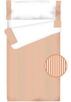 Prêt à Dormir Enfant Zippé Coton – VICHY RAYURE orange