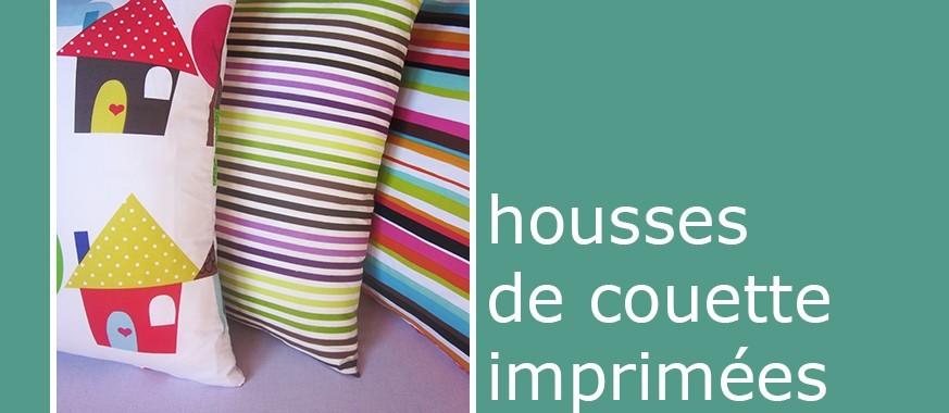 HOUSSE DE COUETTE IMPRIMÉE