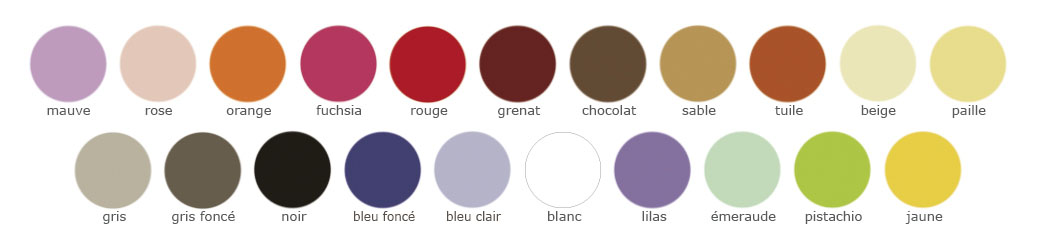 Drap Housse collection de 21 couleurs